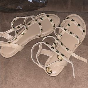 Brand new studded sandals